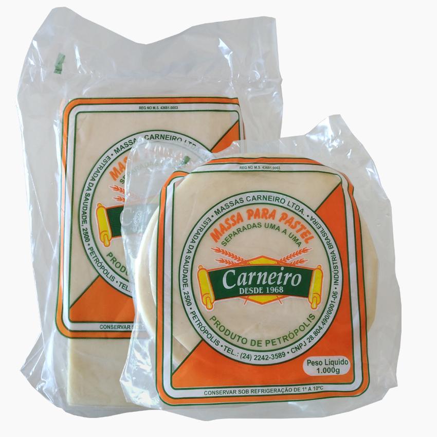 Massas para pastel Carnero