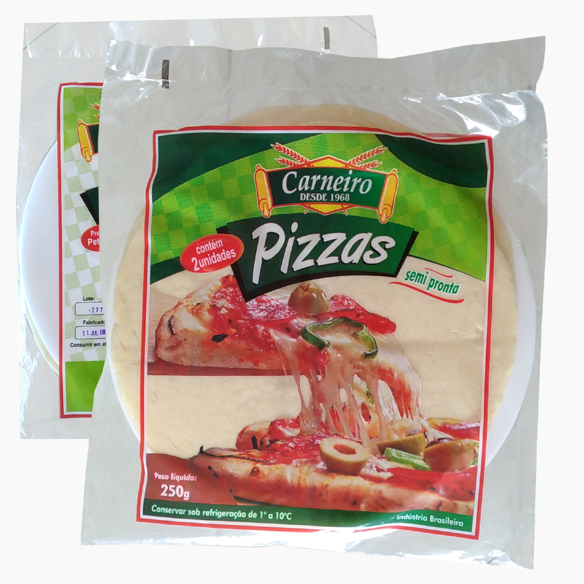 Massas para Pizzas