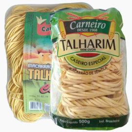 MASSAS PARA TALHARIM CARNEIRO